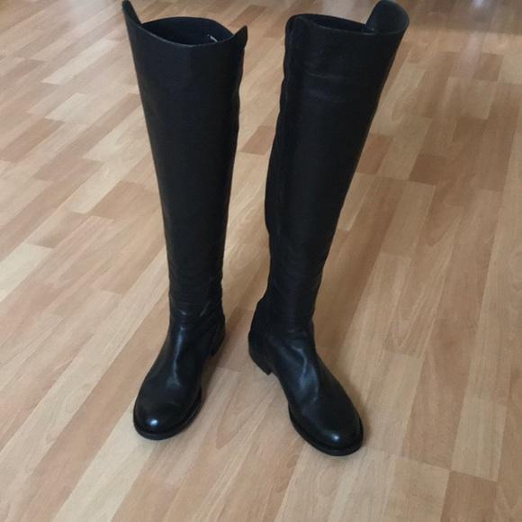 0685c00a2fd Chaussure Lapir Shoes - Knee High Sock Boot Stuart Weitzman 50 50 DUPE